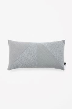 COS | Rectangle contrast cushion