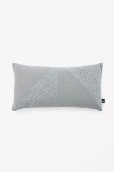 Rectangle contrast cushion