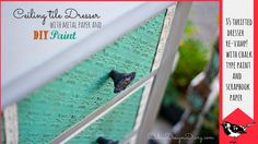 How to use 12x12 metal sheets to help restore old furniture. http://www.bcicrafts.com/Metal-Sheets_c_287.html