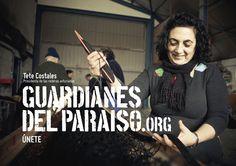 """Anuncio de campaña Teaser """"Guardianes del Paraíso"""". Tete Costales, Presidenta de las rederas asturianas #VillasMarineras  #costa #ParaísoNatural"""