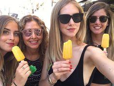 Summer!☀️ #summer #mybabes #milan #together #loveyousomuch #chiaraferagni #fraferragni #valentinaferragni #marinadiguardo