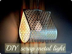 DIY LIGHT FIXTURE (DO IT YOURSELF LIGHT)