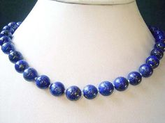 Blue Lapis Fashion Necklace  Hand Made in Montreal  Facebook: Jewelz By G