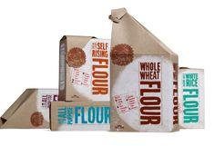 Flour Packaging.Designed by rachel anscher.