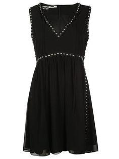 MCQ ALEXANDER MCQUEEN Mcq Alexander Mcqueen Flared Dress. #mcqalexandermcqueen #cloth #dresses