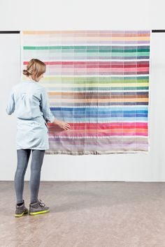 Textiel Museum (NL) is currently developing a collection of textiles at the Textiels Lab in Tilburg. They'll make a series of tea towels & blankets, & show at the Dutch Design Week 2012.