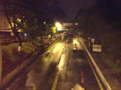 Amanecer lluvioso, Universidad Catolica