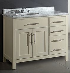 """Cabinets To Go Super Sale 42"""" vanity including top, off center sink $199 sale price for limited time"""