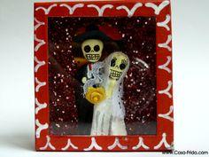 Married Skeletons- more @ https://www.facebook.com/LaCasaFrida