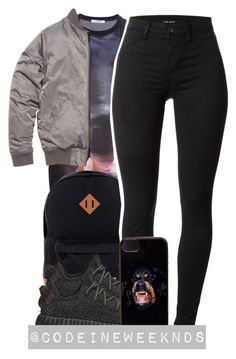 """12:14:15"" by codeineweeknds ❤ liked on Polyvore featuring Givenchy, Herschel Supply Co., J Brand and adidas Originals"