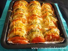 Caceroladas: Verduras gratinadas