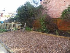 The garden after! Not a bad job all in all! What do you think?!