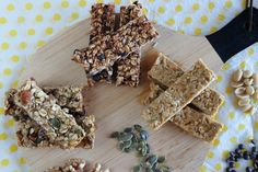 New Recipes, Sweet Recipes, Recipies, Oat Bars, Granola Bars, Desserts With Biscuits, Cereal Bars, Stevia, Truffles