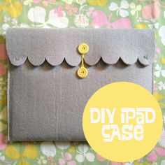 DIY iPad case - might adapt this for kobo