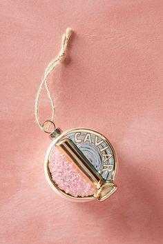 Caviar Tin Ornament | Anthropologie