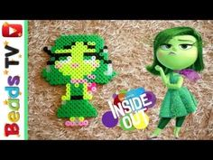 Inside Out: Disgust perler beads