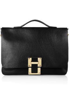 Sophie Hulme|Leather satchel|
