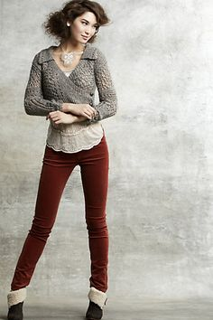 Outfits: Better With A Sweater - The Magazine - Anthropologie.com