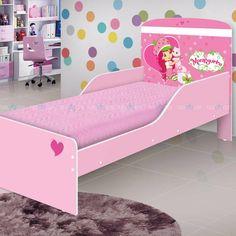 1487106b9a Complete o quarto da sua filha com muito estilo e sofisticação com a  belíssima Cama Moranguinho