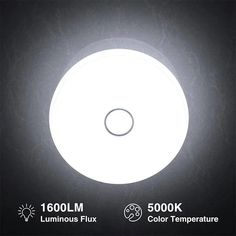 18W 1600lm 5000K Daylight White Flush Mount Ceiling Light IP65 Waterproof – onforuleds Round Led Ceiling Light, Bathroom Ceiling Light, Led Ceiling Lights, Ceiling Light Fixtures, Indoor Swimming, Luminous Flux, Flush Mount Ceiling, Incandescent Bulbs, Aluminium Alloy