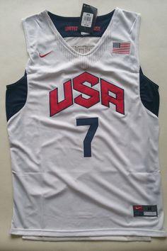 Nike NBA Russell Westbrook Dream Team USA Swingman Jersey # 7 (White) | Sports Mem, Cards & Fan Shop, Fan Apparel & Souvenirs, Basketball-NBA | eBay!