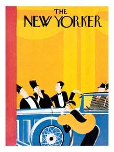 the new yorker cover ~ january 9, 1932 deco  era
