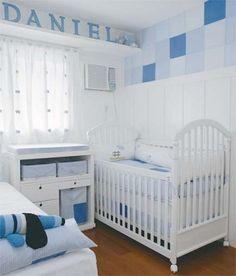 decoracao de quarto de bebe pequeno