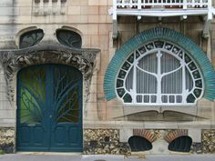 This house was designed by the architect Emile André (1871-1933) from Nancy, France.