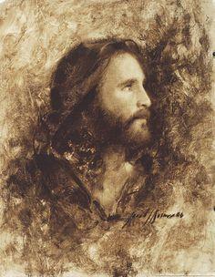 Jesucristo lámina Mesías por artista Jared Barnes