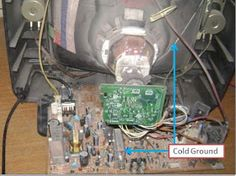 electronics repair made easy: How to troubleshoot CRT Television switch mode power supply problems (s. Switched Mode Power Supply, Crt Tv, Electronic Circuit Projects, Make It Simple, Monitor, Easy