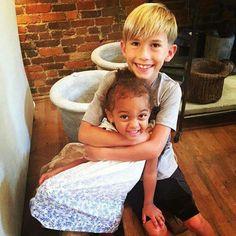 "Grayson Chrisley With His Niece Chloé Chrisley "" CoCo "" ."
