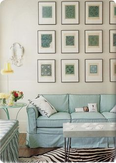 forget the rug...the wall and coordinating couch!
