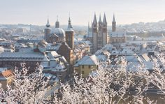 Würzburg in winter