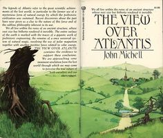 Image result for pictures of book cover of the View Over Atlantis by British antiquarian John Michel