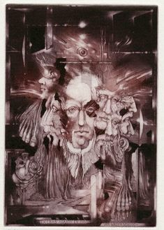 Zdenek Bugan Title Page, Surreal Art, School Projects, Shakespeare, Surrealism, Beautiful Pictures, Illustration, Painting, Printmaking