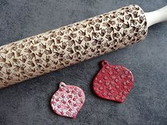 HANDPRINTS pattern rolling pin and cookie cutter * You can get more details by clicking on the image.