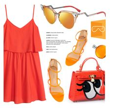 """SMARTBUYGLASSES.co.uk"" by monmondefou ❤ liked on Polyvore featuring H&M, Fendi, Liliana, Hermès, fendi and smartbuyglasses"