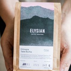 Swear Words @swear_words - Congratulations to our special friends @elysiancoffee for launching their new website this week. A lovely insight into their brand. Brand and packaging design by us. #brand #branddesign #branding #graphic #graphicdesign #design #coffee #packaging #packagingdesign #labeldesign #coffeepackaging #specialtycoffee #coffeetime #cafe #coffeelover #coffeeaddict #coffeegram . Featured: @worldbranddesign Submit: worldpackagingdesign.com/submit . #packaging #branddesign… Label Design, Packaging Design, Branding Design, Product Label, Product Launch, Coffee Shop Branding, Coffee Industry, Coffee Packaging, Congratulations
