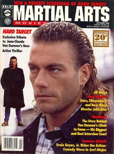 Jean-Claude Van Damme, Martial Arts Movies (10/93) Kung Fu Martial Arts, Martial Arts Movies, Martial Artists, Action Film, Action Movies, Bolo Yeung, Full Contact, Karate, Claude Van Damme