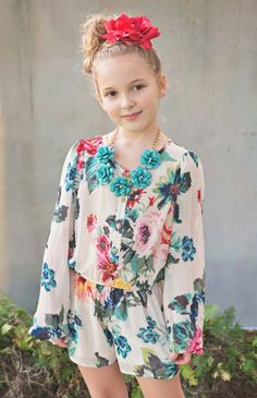 Tween Rose is a Rose Jumper Preorder 7 to 16 Years