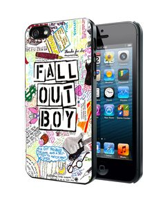 Fall Out Boy Art Samsung Galaxy S3 S4 S5 Note 3 Case, Iphone 4 4S 5 5S 5C Case, Ipod Touch 4 5 Case