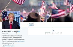 Pendant que la très officielle et solennelle cérémonie d'investiture se déroulait ce vendredi devant le Capitole à Washington, une autre passation de pouvoir, numérique, s'est jouée sur la Toile, selon un protocole très précis. Barack Obama a cédé sa place à la Maison Blanche au nouveau président Donald Trump et il lui a également transmis le compte officiel Twitter @POTUS (pour President of The United States), créé en mai 2015.