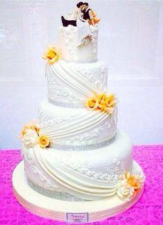 Oltre 1000 immagini su Wedding Cake su Pinterest  Torte da matrimonio ...