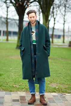 Isaac Hindin-Miller, Paris Fashion Week AW15