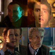 First/last new Who Doctor scenes