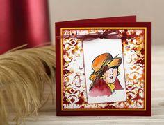 By Liesbeth Fidder for Craft Stamper magazine