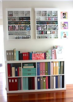 estante organizada