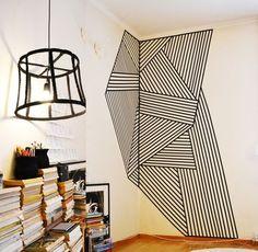 Bunter Klebespaß (Teil 1) – Möbel, Wände, Böden | Der Schlüssel zum Glück | Interior Design für Jedermann