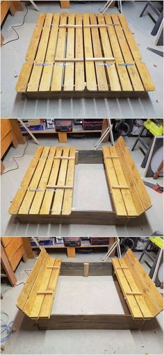 It is not important that you would be creating all the wood pallet items for important portions of the house. Do something for the kids as well. Here we have the idea of interestingly designed wood pallet sand box. This box would even access you with the services of the benches too for the seating purposes.