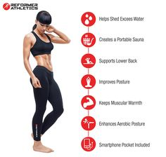 8d1e2a0c55 Reformer Athletics Waist Trimmer Ab Belt Trainer for Faster Weight Loss. Includes  FREE Fully Adjustable Impact Resistant Smartphone Sleeve for iPhone 7 and  ...